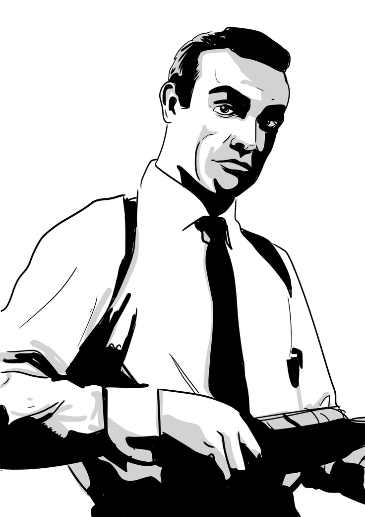 james bond coloring pages characters - photo#1