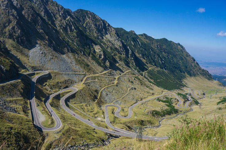 The Transfagarasan Highway in Romania has been called the best road in the world. Wouldn't you agree?  #roadtrip #romania #travel #adventure #mountains #explore
