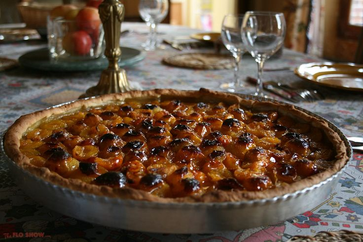 Mirabelle plum tart - a French classic ⋆ The Flo Show.com