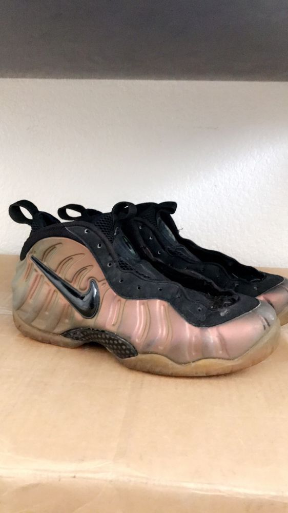 591ffc0e32c ... purchase nike foamposite gym green size 11.5 authentic fashion clothing  shoes 34af0 98680