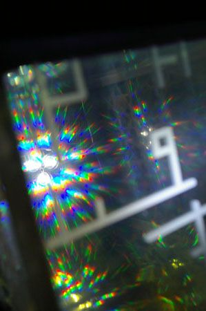 Because... - diffraction grating film