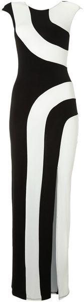 LOVE Monochrome Maxi Dress - Lyst