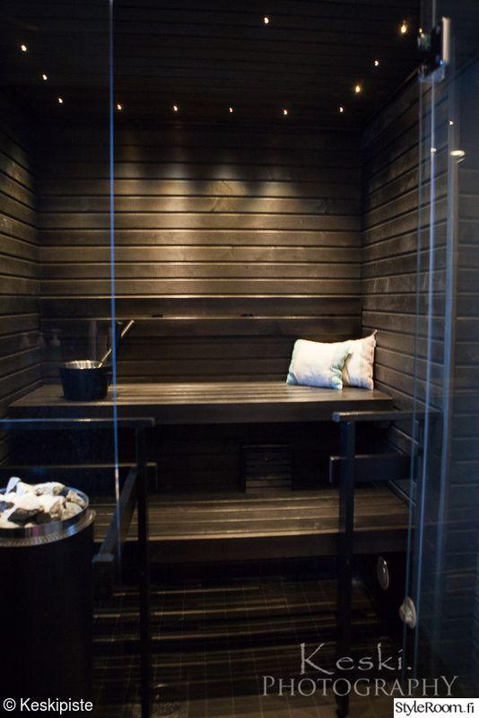 sauna,musta sauna,lasiseinä