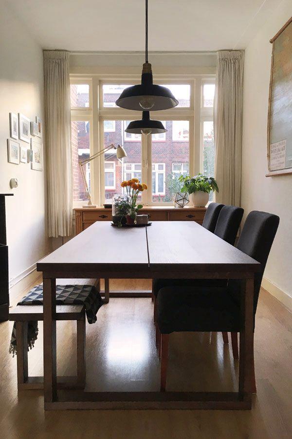 Onze Nieuwe Eettafel Dining Room Layout Minimalist Dining Room