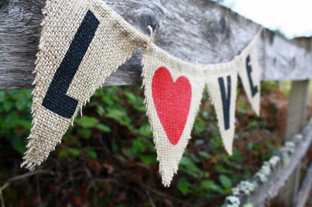 'Sew' cute!  Only $7.50, AND you can still get it before Valentines day!!!: Banners Rustic, Rustic Valentines, Valentines Garlands, Rustic Burlap, Engagement Banners, Valentines Dayrust, Holidays Valentines, Beautiful Etsy, Handmade Holidays