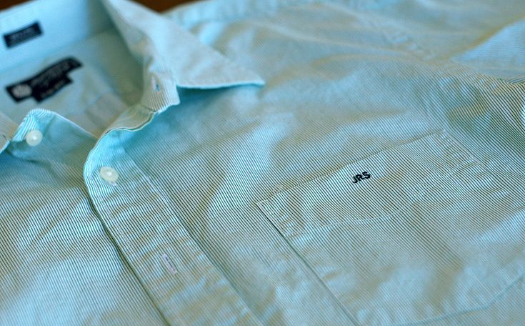 1000 images about monograms for him on pinterest pocket for Initials on dress shirts