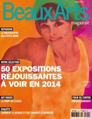 Beaux Arts magazine Janvier 2014