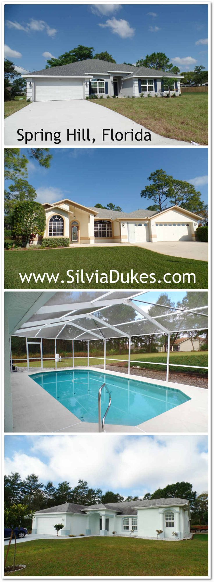 Spring Hill Florida Homes for Sale by Silvia Dukes