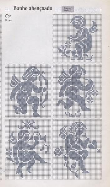 Engel - angel Häkeln & Filethäkeln Motive & Muster / crochet