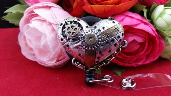 This Old Mechanical Steampunk Heart of Mine Slide by ChristyBows
