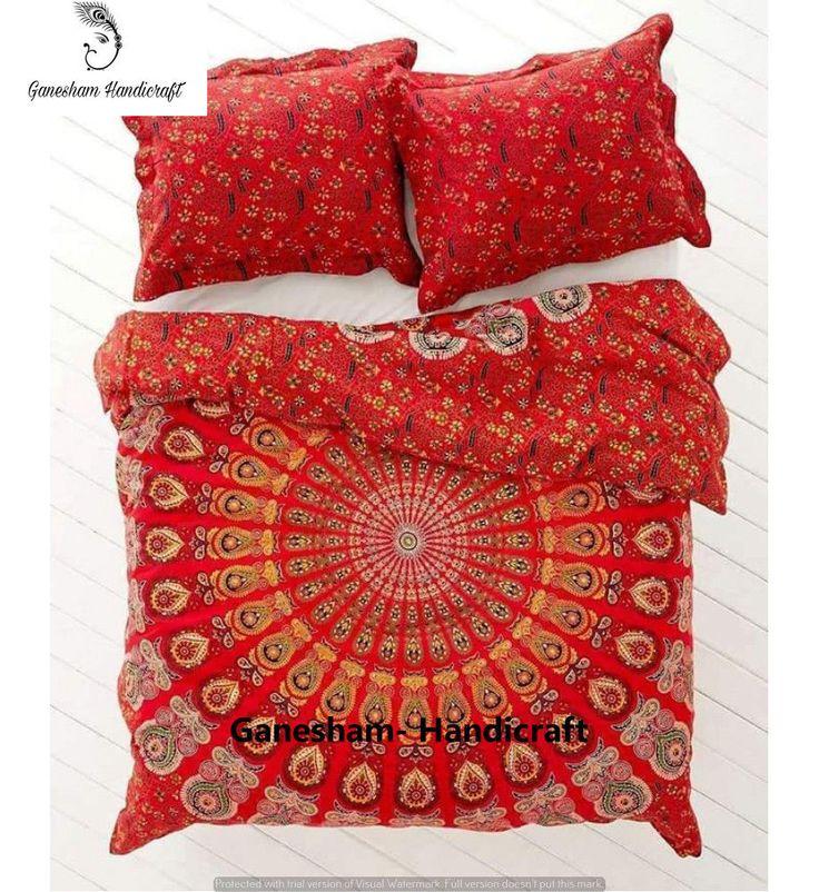Indian Mandala Tapestry Boho Bohemian Bedspread Quilt Handmade Duvet Cover Set | Home & Garden, Bedding, Duvet Covers & Sets | eBay!