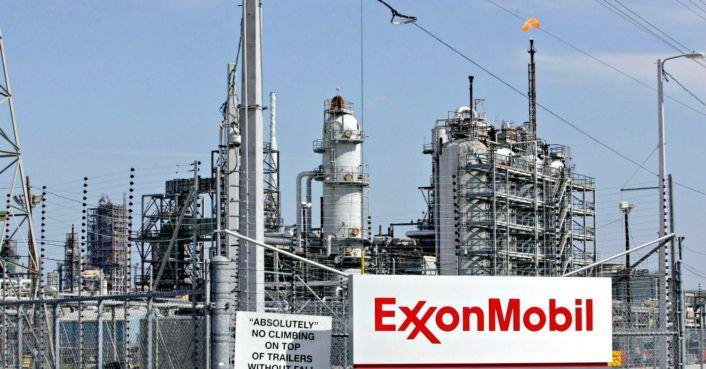 Hurricane Harvey damaged ExxonMobil refineries, causing hazardous pollutants to leak #climatechange #environment