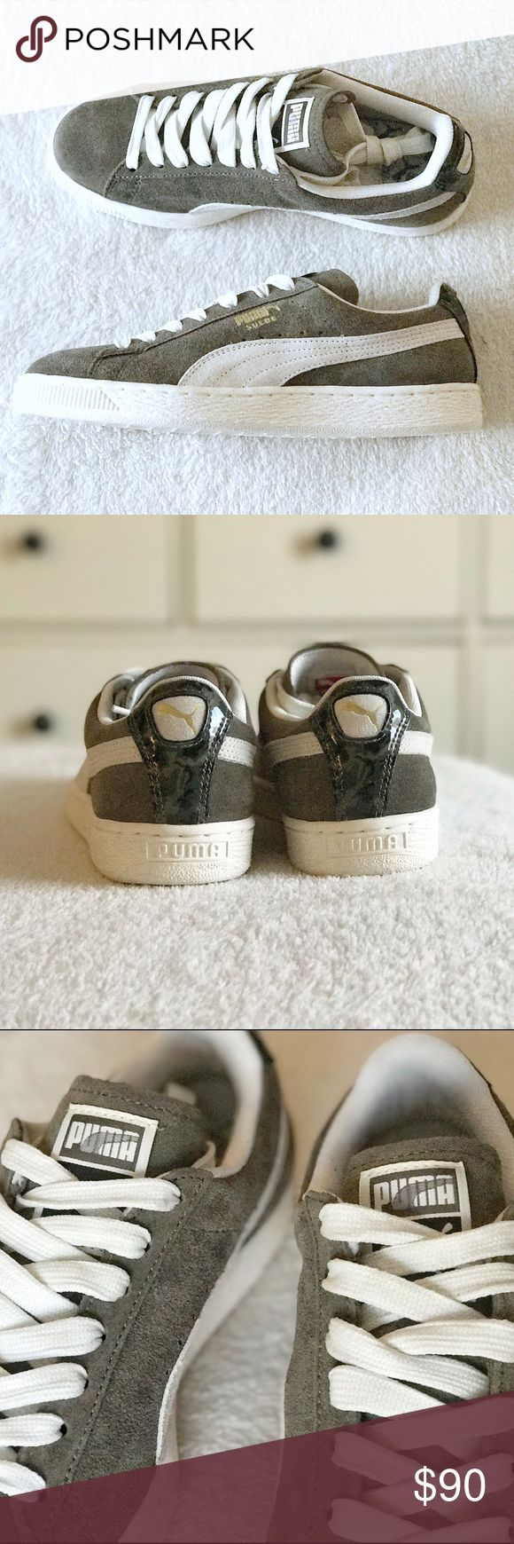 Puma Suede Classic NC sneakers WMNS size 7.5 SOLD OUT BRAND NEW Puma Suede Classic NC Burnt Olive in Women's size 7.5 Puma Shoes Sneakers