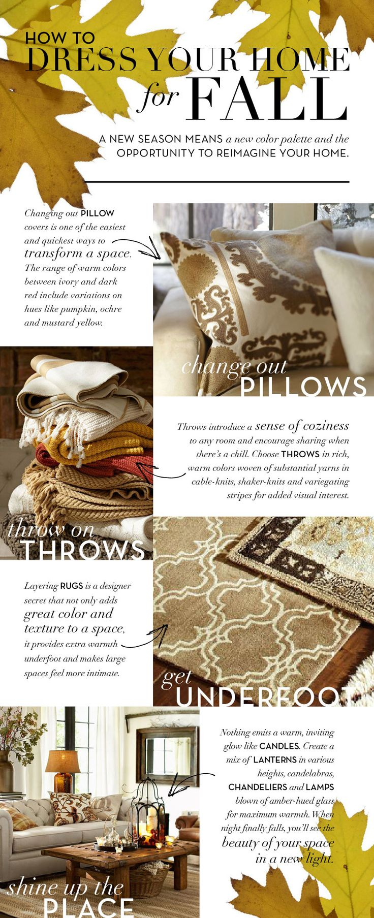 Dress Your Home For Fall | Pottery Barn