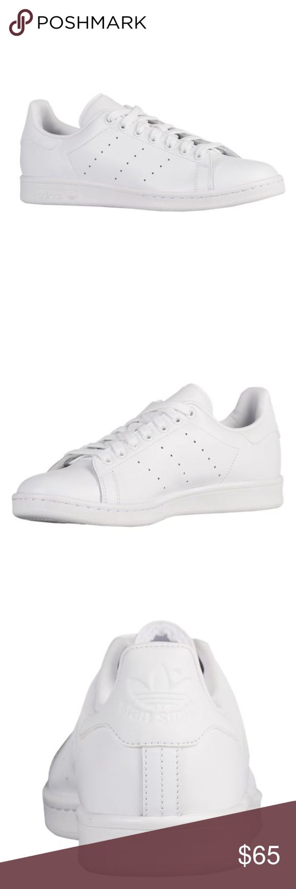 Adidas Stan Smith all white shoes All white Adidas Originals Stan Smith Adidas Shoes Sneakers