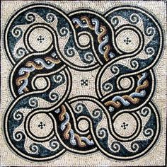 Marble Roman Mosaic Tile Design Pattern Artwork – August   eBay