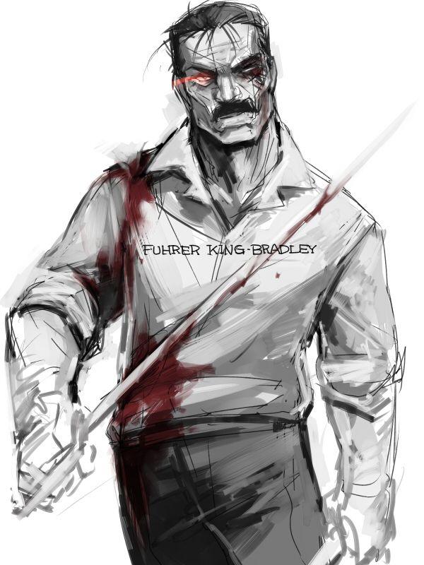FULLMETAL ALCHEMIST - Fuhrer King Bradley, aka: Wrath.