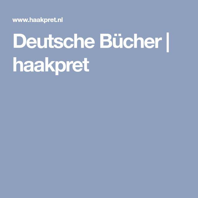 Deutsche Bücher | haakpret