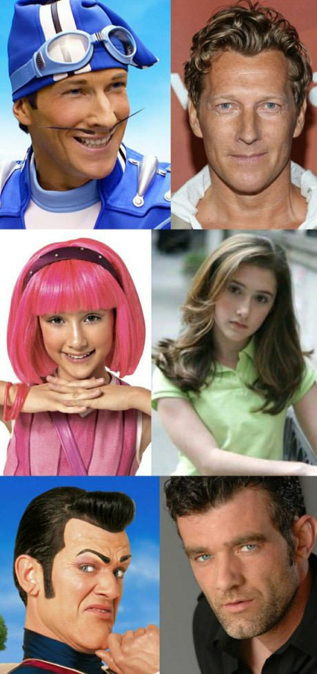 Lazy Town! :^)