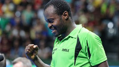 Aruna Quadri sets African record qualifies for quarter final    Nigerias Aruna Quadri on Monday night emerged as the first African ever to make it to the quarter-finals of the mens single table tennis event at the Olympics.  Quadri in a thrilling encounter beat his German opponent Boll Timo 4-2 to seal a historic berth in the quarter finals of mens single table tennis event.  Before Mondays win Quadri was only at par with legend Segun Toriola who at the 2008 Beijing Olympic Games in China…