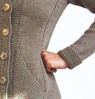 Triangle Jacket by von Hinterm Stein   dk wt.