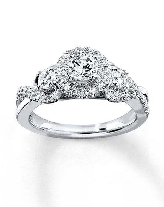 Kay Jewelers engagement ring in white gold with round cut I Style: 940286913 I https://www.theknot.com/fashion/940286913-kay-jewelers-engagement-ring?utm_source=pinterest.com&utm_medium=social&utm_content=june2016&utm_campaign=beauty-fashion&utm_simplereach=?sr_share=pinterest