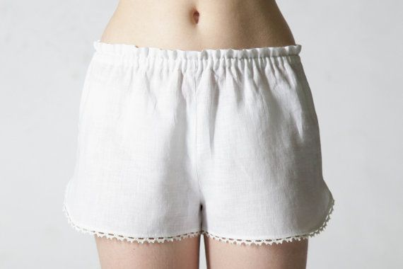 Hey, I found this really awesome Etsy listing at https://www.etsy.com/uk/listing/106993483/linen-sleep-shorts-for-woman-linen-laced
