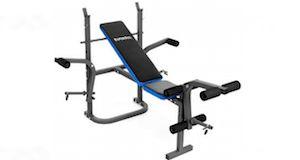 Trainingsbank mit Gewichten - Kinetic Sports WBF01 › http://www.hantelbank-kaufen.com/kinetic-sports-wbf01-hantelbank-mit-gewichten/