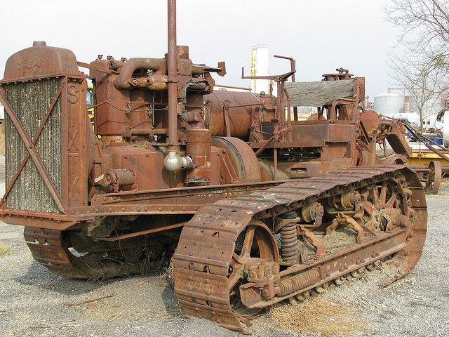Old Antique Caterpillar Tractors : Best images about antique heavy equipment on pinterest