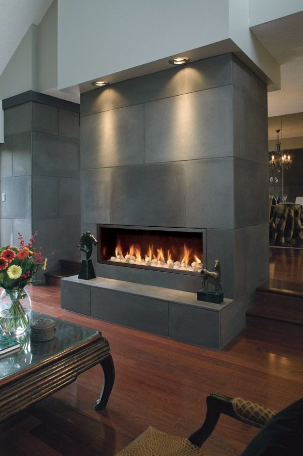 Town U0026 Country Modern Style Fireplace. Model: WS54. #fireplaces