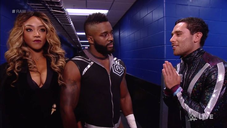 Does a NEW YEAR mean a NEW Noam Dar on WWE Raw? If you ask Alicia Fox and Cedric Alexander, probably not....