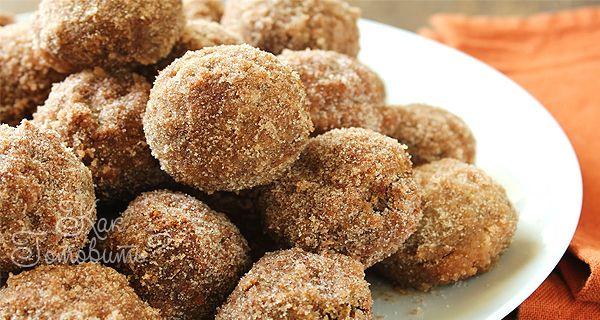 Печеные тыквенные пончики