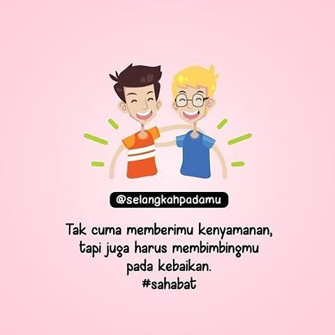 """""""Jika engkau punya teman yang selalu membantumu dalam rangka ketaatan kepada Allah maka peganglah erat-erat dia jangan pernah kau lepaskannya. Karena mencari teman baik itu susah tetapi melepaskannya sangat mudah sekali."""" (Imam Syafi'i) http://ift.tt/2f12zSN"""