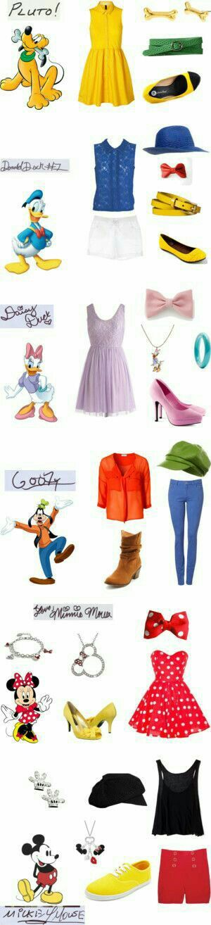 Looks inspirados nos personagens Disney