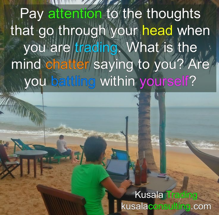 Pay attention to the thoughts that go through your head when you are trading. What is the mind chatter saying to you? Are you battling within yourself? #mindchatter #selflimitingthoughts #selfawareness #selfrecognition #successfultrader #forex #forextrading #tradingforex #trader #forextrader #trading #mindsetconsultant #mindset #unconditionallove #confidence #alignment #digitalnomad #remoteliving #digitalnomadlife #travel #srilanka