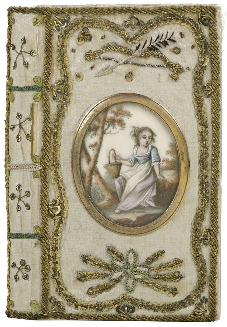 Band van witte zijde, 1808-1809