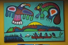 MARK ANTHONY JACOBSON CATALOGUE RAISONNÉ: Thunderbird vs the Beaver (Ojibway Legend)