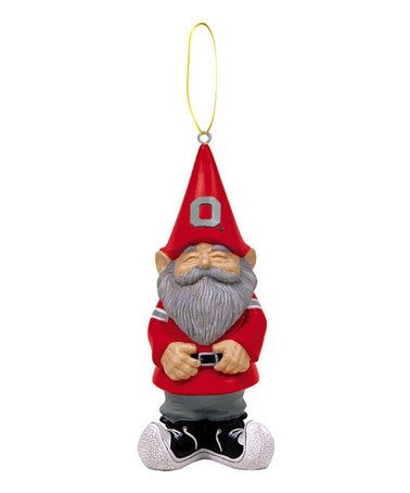 Take A Look At This Ohio State Gnome Ornament By Evergreen
