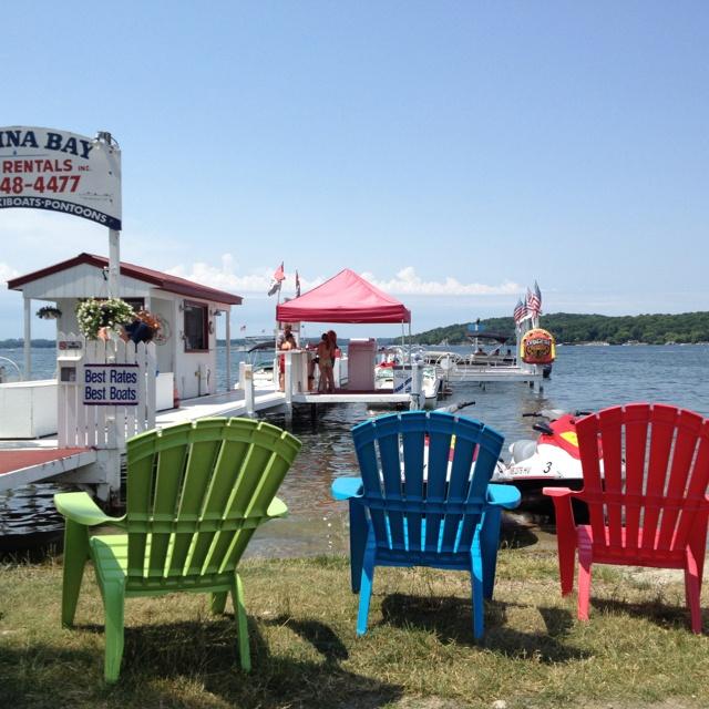 Lovely Lake Geneva, Wisconsin.