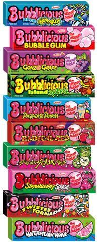 loved bubblicious gum!!