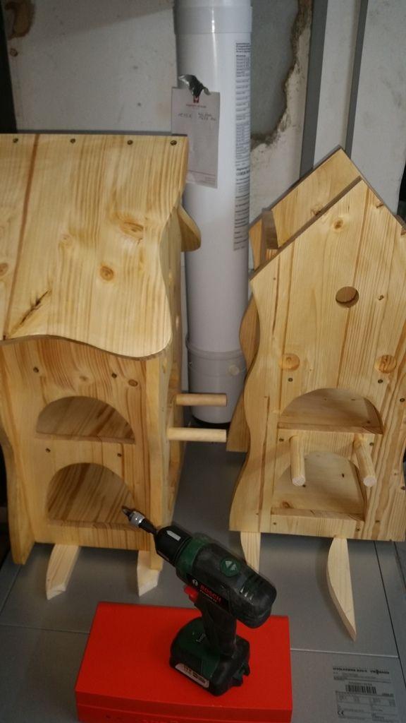 Vogelhaus für Groß und Klein Bauanleitung zum selber bauen