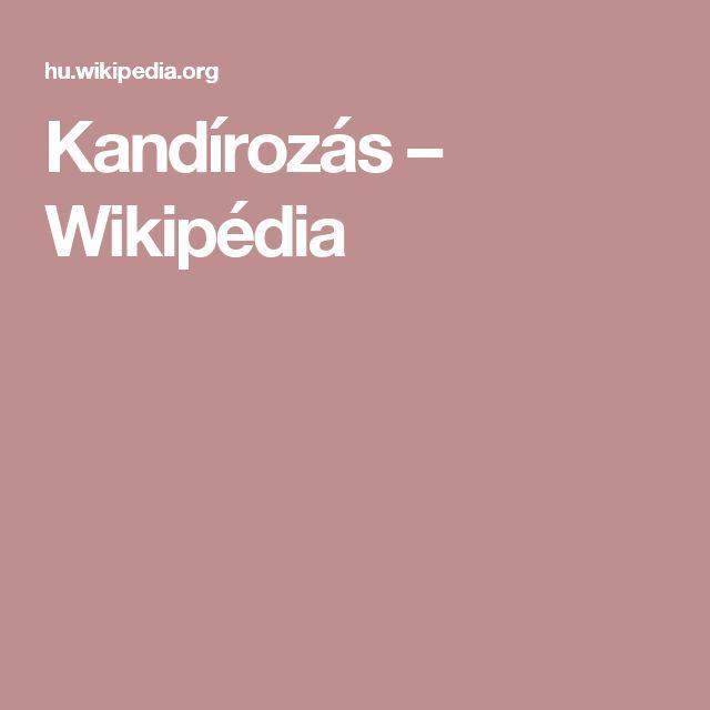 Kandírozás – Wikipédia