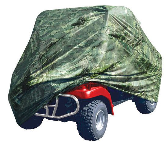 Armor Shield 4 x 4 UTV Utility Vehicle Storage Protective Indoor/Outdoor Cover, Fits Vehicles up to 110'' Long, Camo Color (Fits Vehicles without Cabin/Rollbar/Roof)
