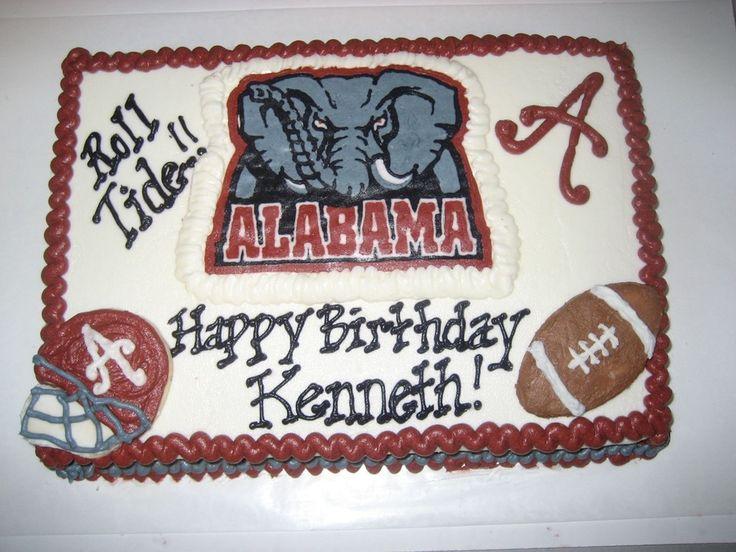 Roll Tide Birthday Cake | Alabama roll tide Birthday — Birthday Cakes