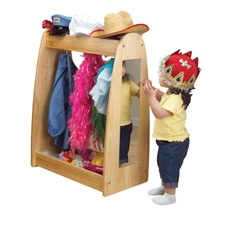 Toddler Dress Up Station. Donu0027t Think This Would Be Too Hard To