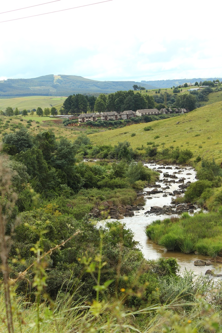 Can you spot Granny Mouse Country House? Natural beauty abounds along the Midlands Meander. See: www.midlandsmeander.co.za