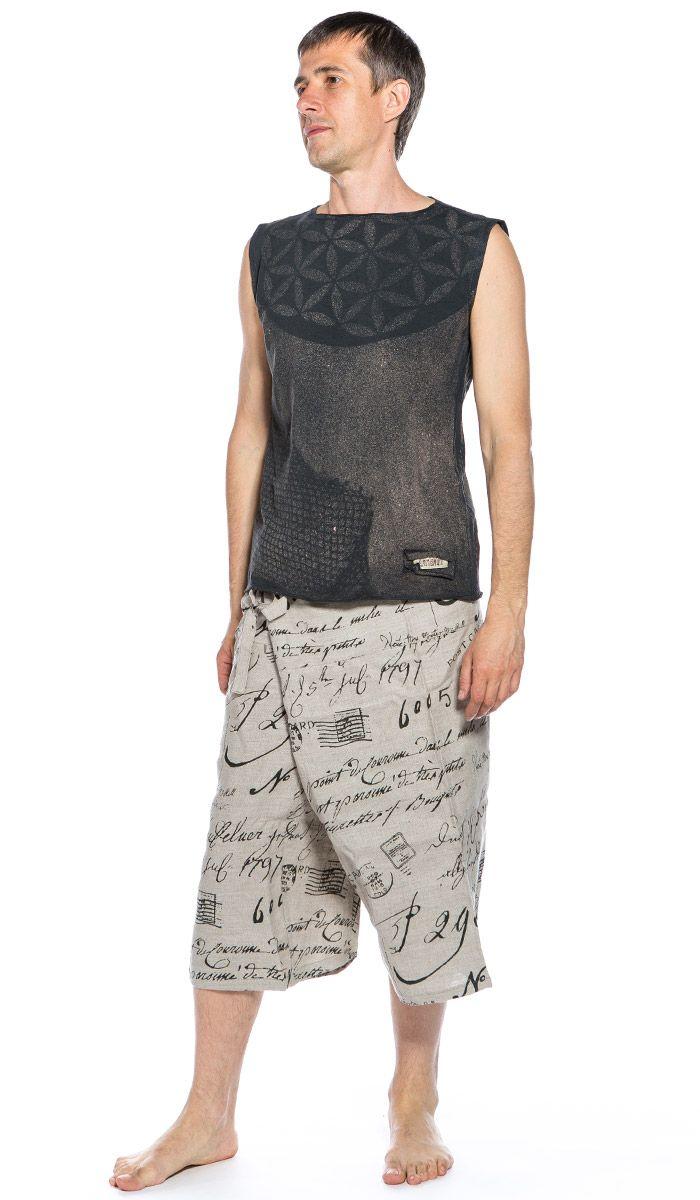 Шорты для йоги, мужская одежда для йоги. Yoga short, yoga clothes. 1540 рублей