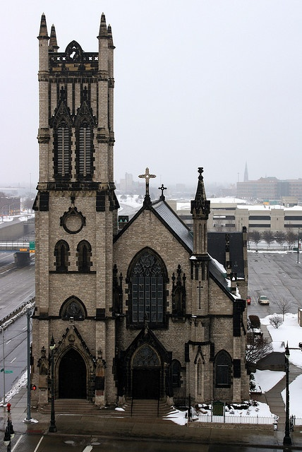 St. John's Episcopal Church is located at 2326 Woodward Avenue in Downtown Detroit, Michigan. However, the business address is 50 E Fisher Fwy, Detroit, MI. It is the oldest church still standing on Woodward. Opened 1859