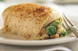One of my family's favorites. Creamy Broccoli-Stuffed Chicken Breasts Recipe - Kraft Recipes
