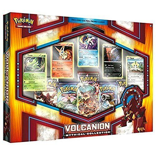 Pokémon TCG Volcanion Mythical Collections 5 Pokmon TCG booster packs ++ NEW #Pokemon